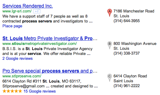 St. Louis Process Server