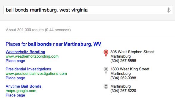 West Virginia Bail Bonds