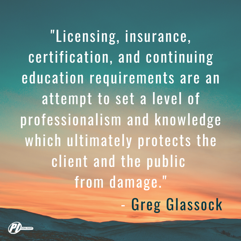 Greg Glassock Quote