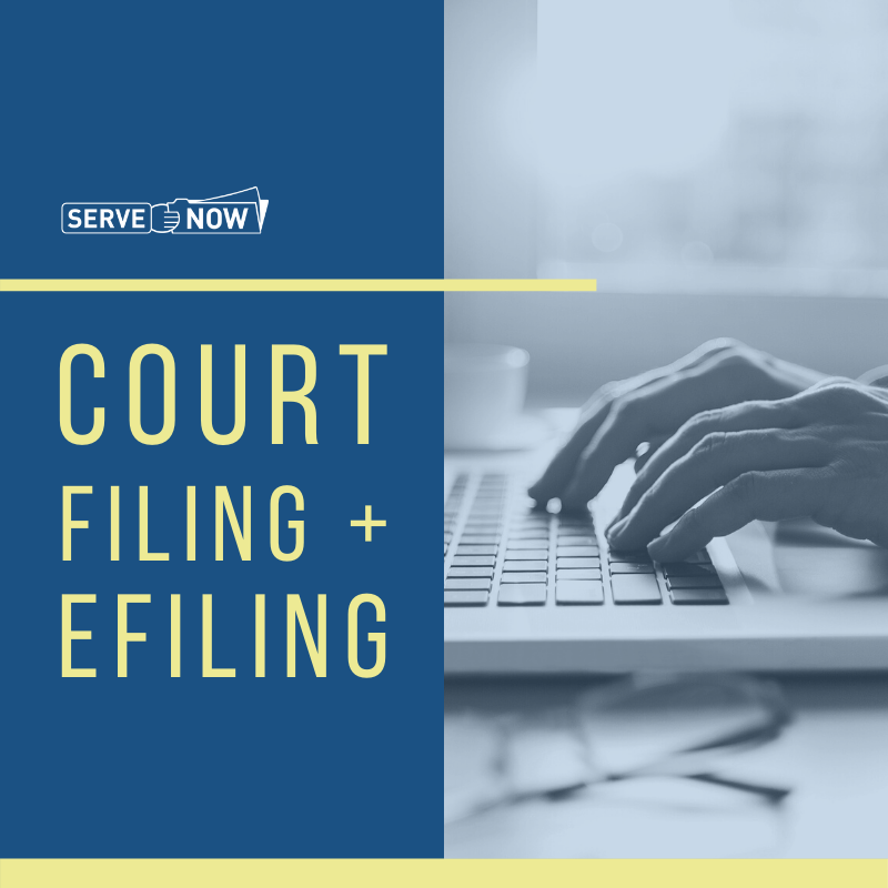 Court Filing and eFiling