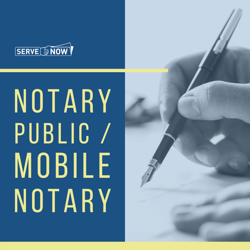 Notary Public, Mobile, and Online Notary