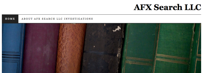 Top Investigation Blogs AFX Search