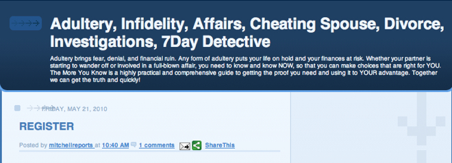 Top Investigation Blogs 7 Day Detective