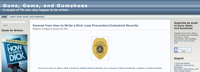Top Investigation Blogs Guns Gams Gumshoes