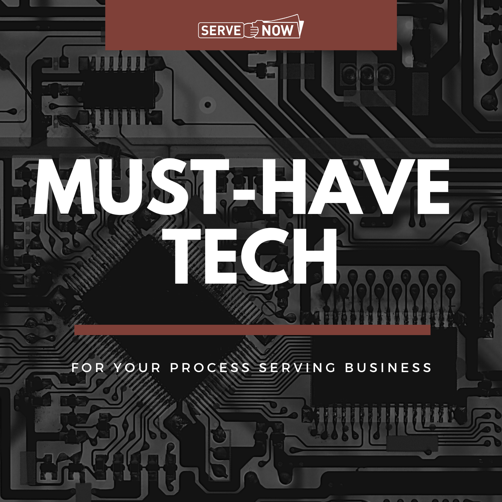 Must-Have Tech for Process Serving Business