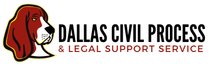 Dallas Civil Process & Legal Support Service Logo