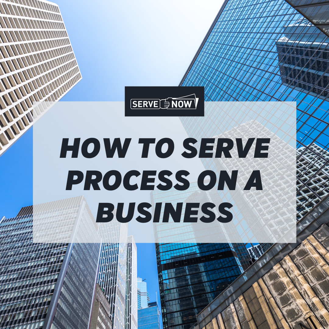 Article image for How to Serve Process on a Business