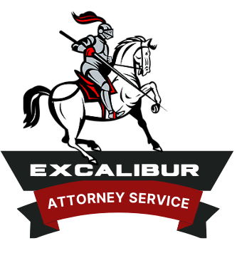 Excalibur Attorney Service Logo