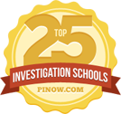 Featured on PInow.com - Top 25 Investigation Schools