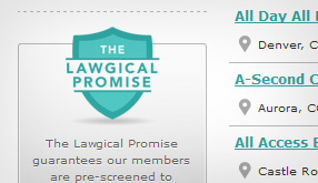The Lawgical Promise