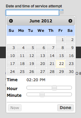 New Date/Time Picker