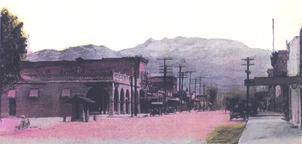 Picture of San Jacinto in 1920
