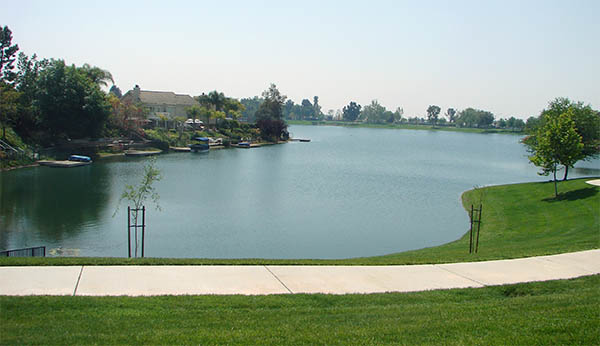 Sunnymead Lake in Moreno Valley