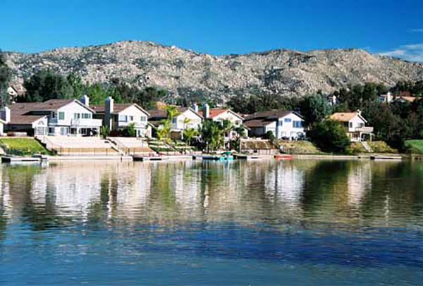 Sunnymead Ranch Lake in Moreno Valley CA