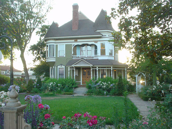 View of Victorian Historical House