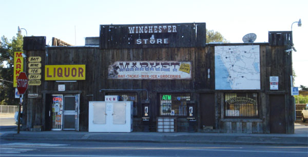 Old Store in Winchester California