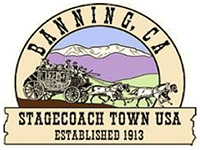 Image of Banning CA Seal - Logo