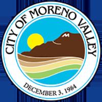 Image of Moreno Valley CA Seal - Logo