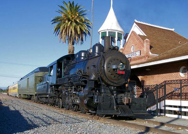 The Perris Depot - Orange Empire Railway Museum in Perris CA