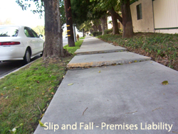 Premises Liability - Dangerous Sidewalks