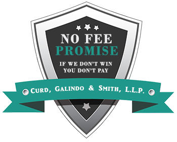 California Personal Injury Lawyers have a policy: No Win - No Fee