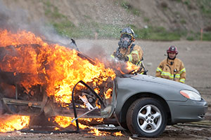 Image of Traumatic Car Fire