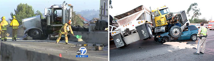 Image of 2 Truck Accidents