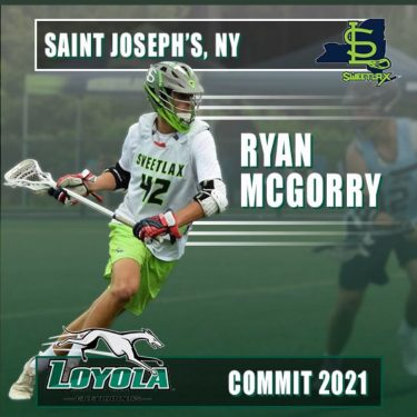 Ryan McGorry from St. Joseph Collegiate Commits to Loyola.