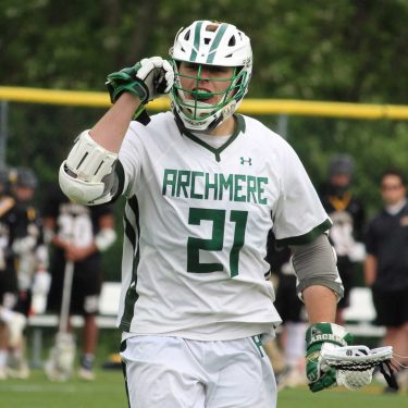Mitch Moyer from Archmere Academy Player Profile by LaxRecords.com