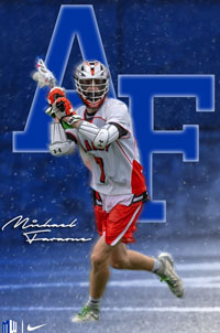 Michael Faraone from Carey Player Profile by LaxRecords.com