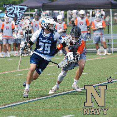 Taylor LaFar from Charlotte Country Day Player Profile by LaxRecords.com