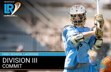 2021 Division III Lacrosse Commits Presented by LaxRecords.com