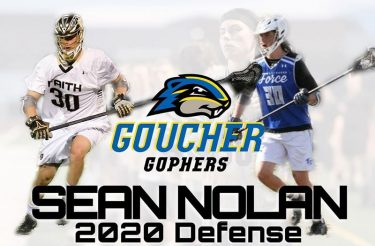 Sean Nolan from Faith Lutheran (Nev.) has made a verbal commitment to play Division III lacrosse with Goucher.