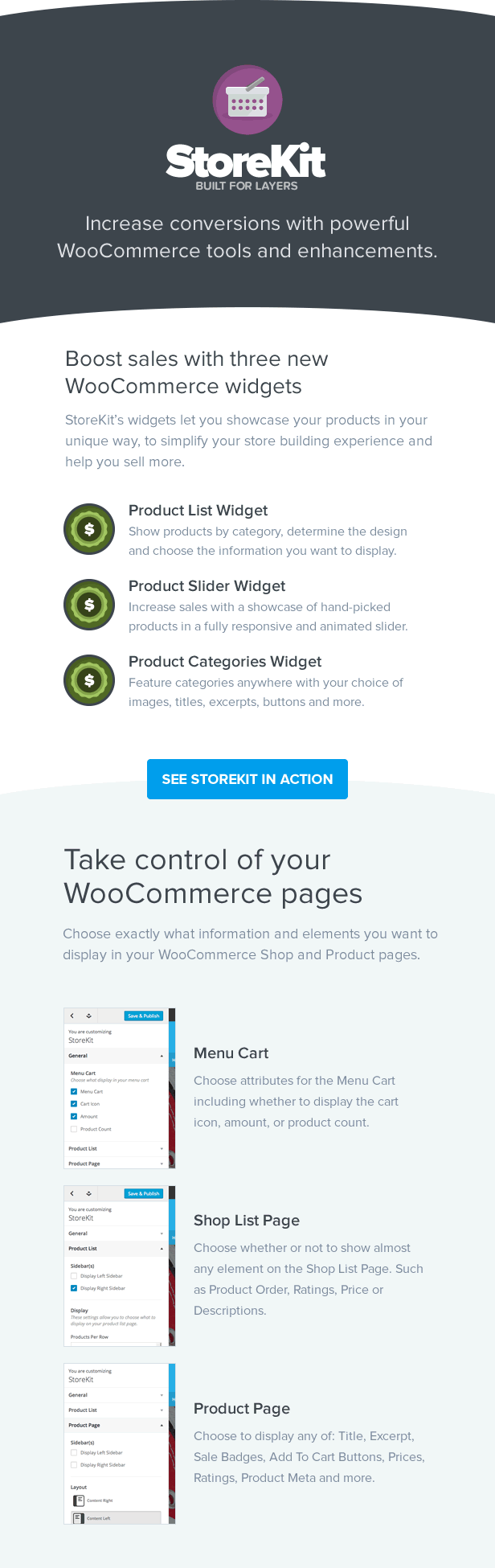 StoreKit - WooCommerce for Layers