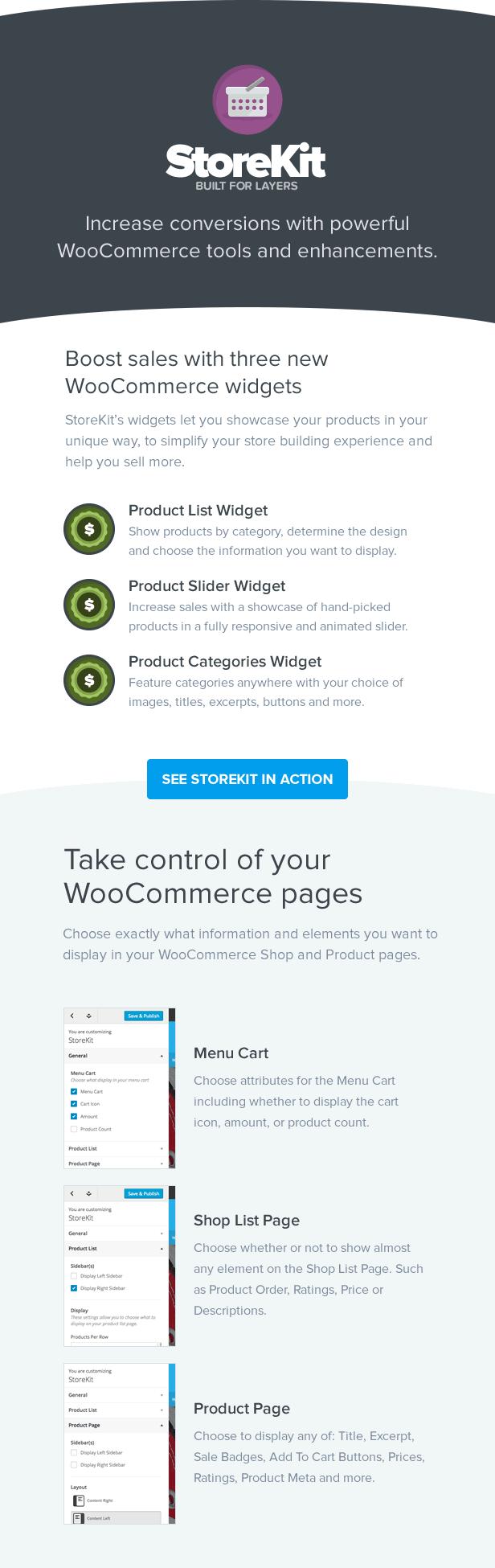 StoreKit - WooCommerce for Layers