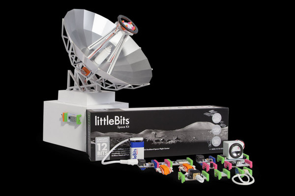 New littleBits Space Kit in collaboration with NASA. Expand Your Universe. Shop Now! by littleBits