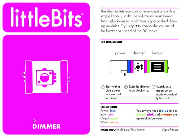 Bit card 08 i6 dimmer