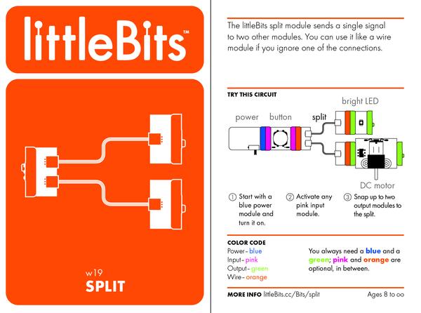 Bit card 40 w19 split