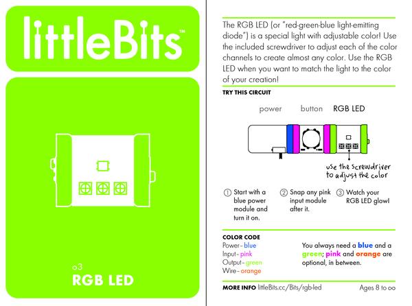 Bit card 43 o3 rgbled