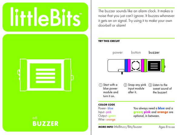 Bit card 46 o6 buzzer