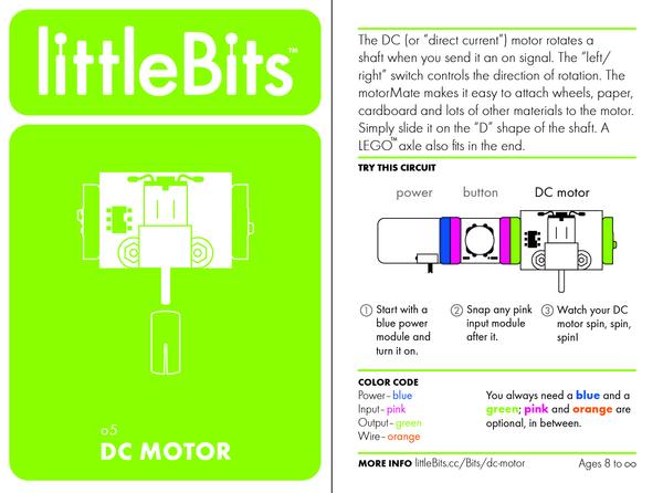 Bit card 45 o5 dcmotor