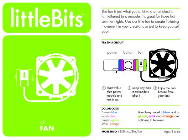Bit card 50 o13 fan