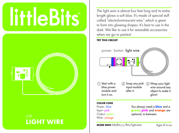 Bit card 53 o16 lightwire