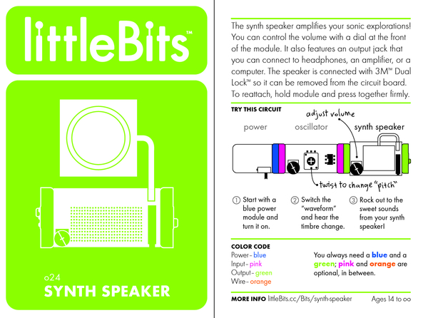 Bit card 55 o24 synthspeaker