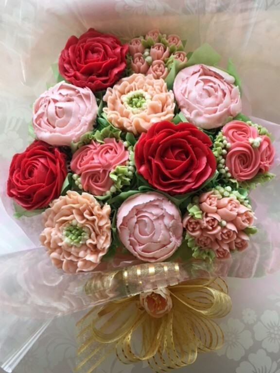 Fabulous cupcake making and decorating classes le beau cake bouquets to order izmirmasajfo Image collections