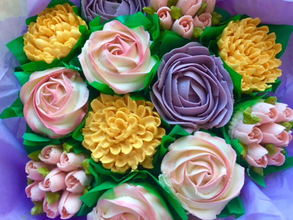 Cupcake Bouquets Available To Order Le Beau Cake