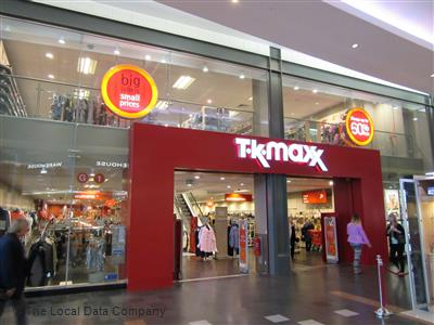 Image result for picture of TK Maxx store in golden square warrington