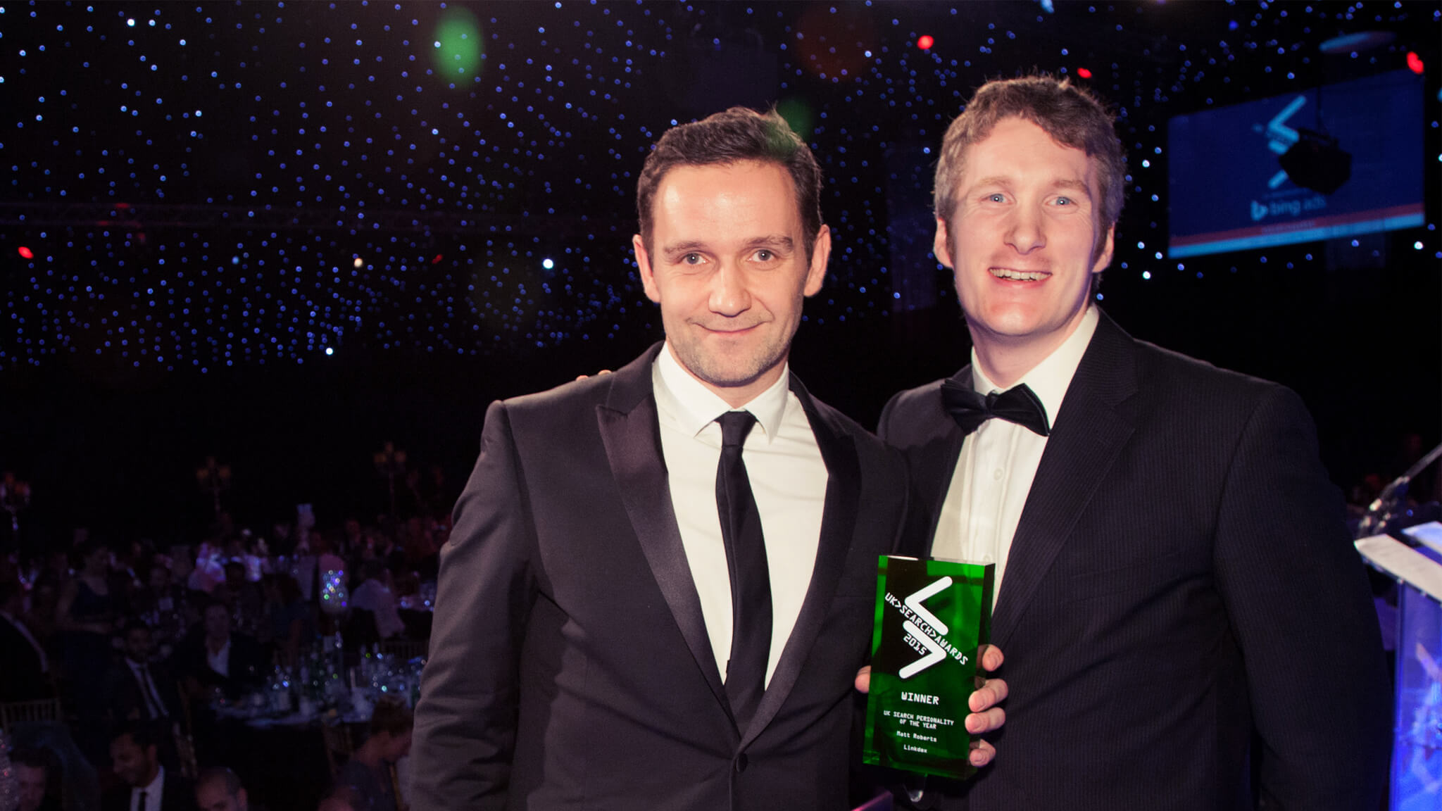 Matt Roberts Wins Search Personality of the Year At UK #SearchAwards