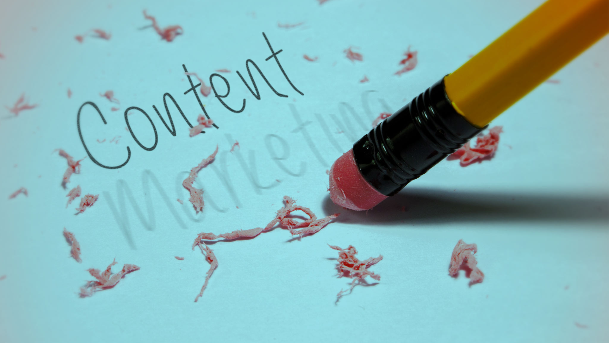 Will we end up dropping 'marketing' from 'content marketingplatform'?