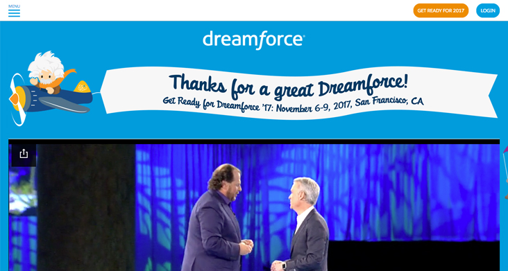 Dreamforce conference
